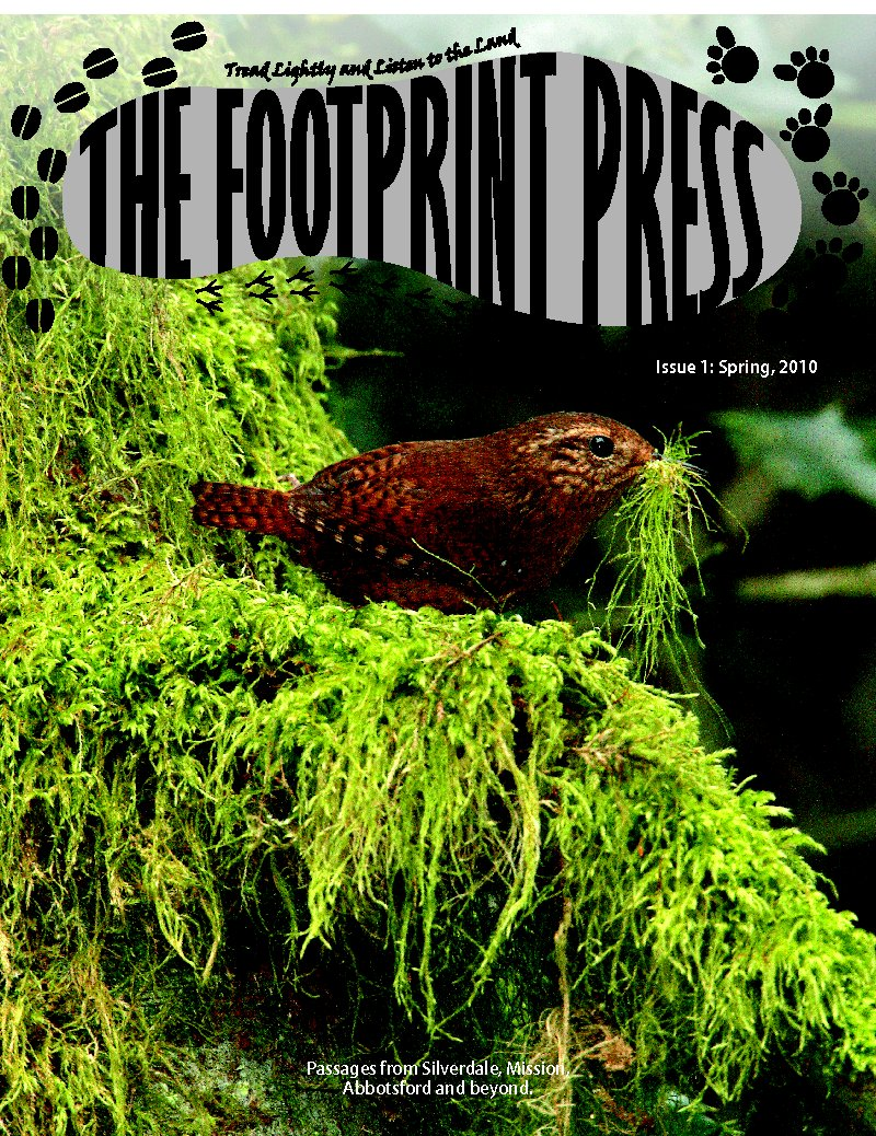 Spring, 2010 issue of The Footprint Press